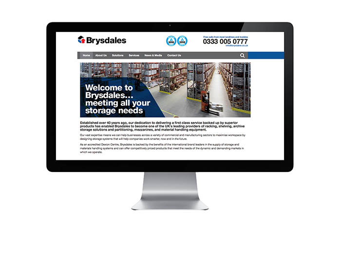 Brysdales new website goes live